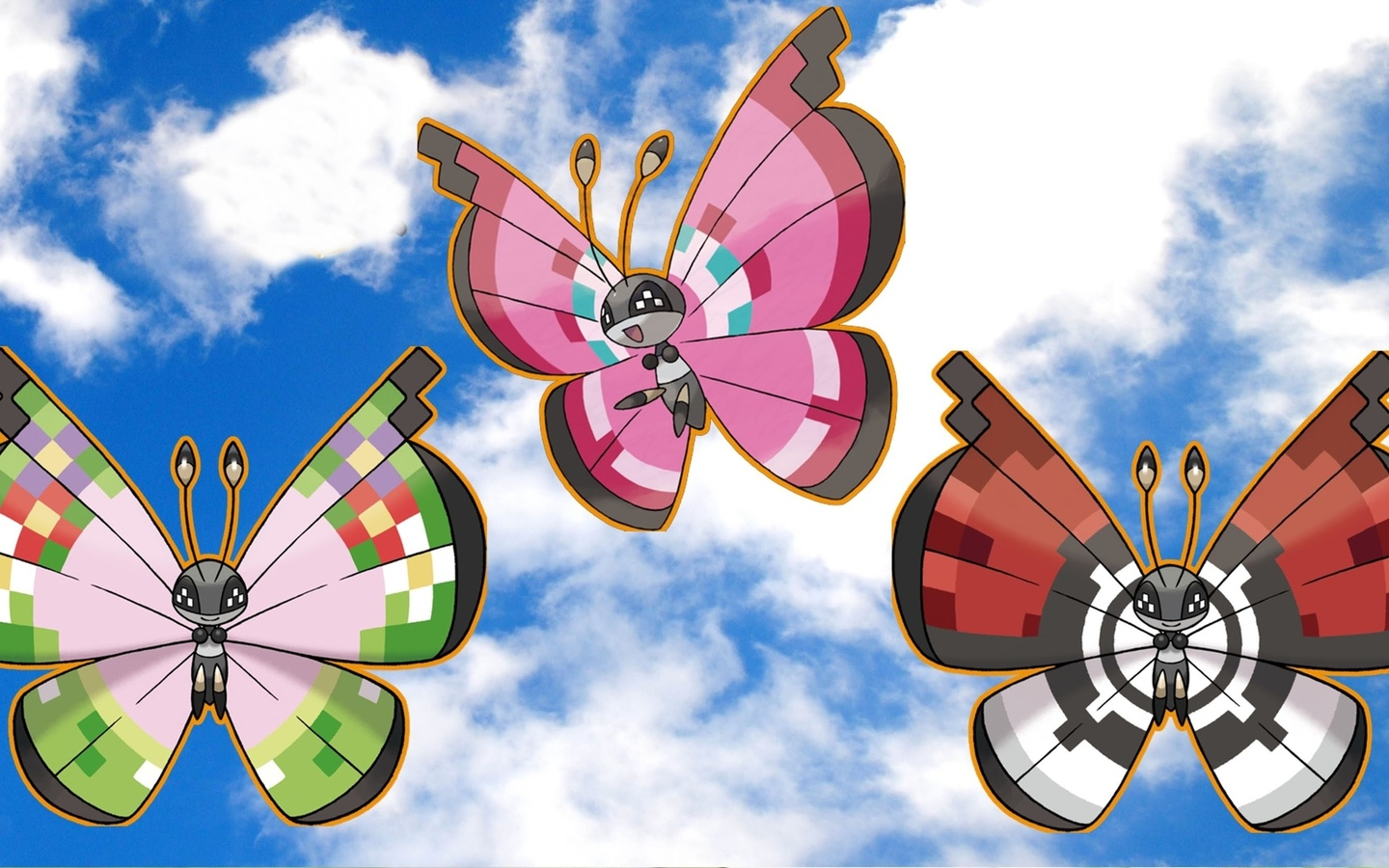 vivillon, pokemon