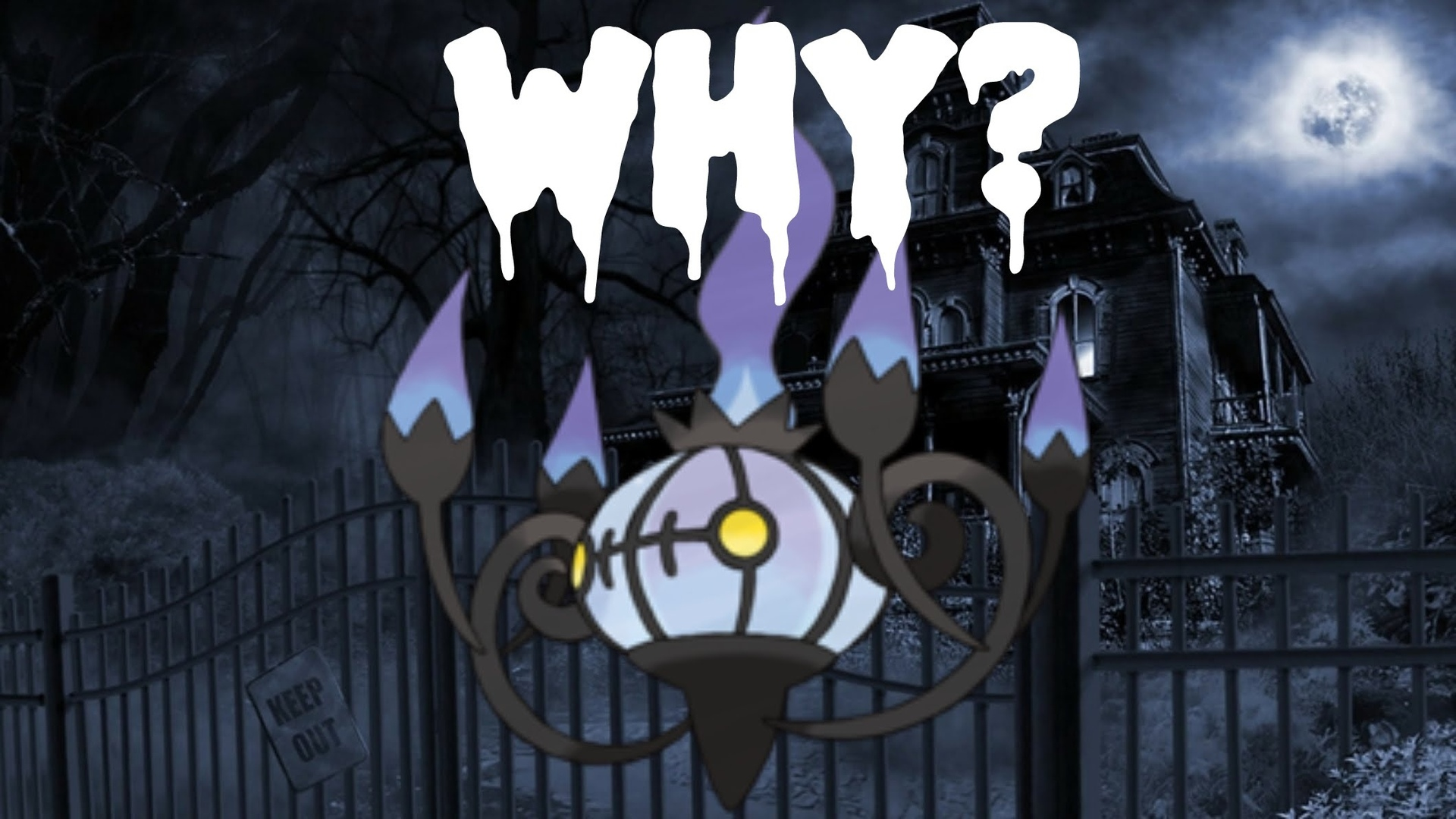 pokemon, chandelure