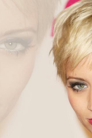 девушка, красивая, лицо, знаменитость