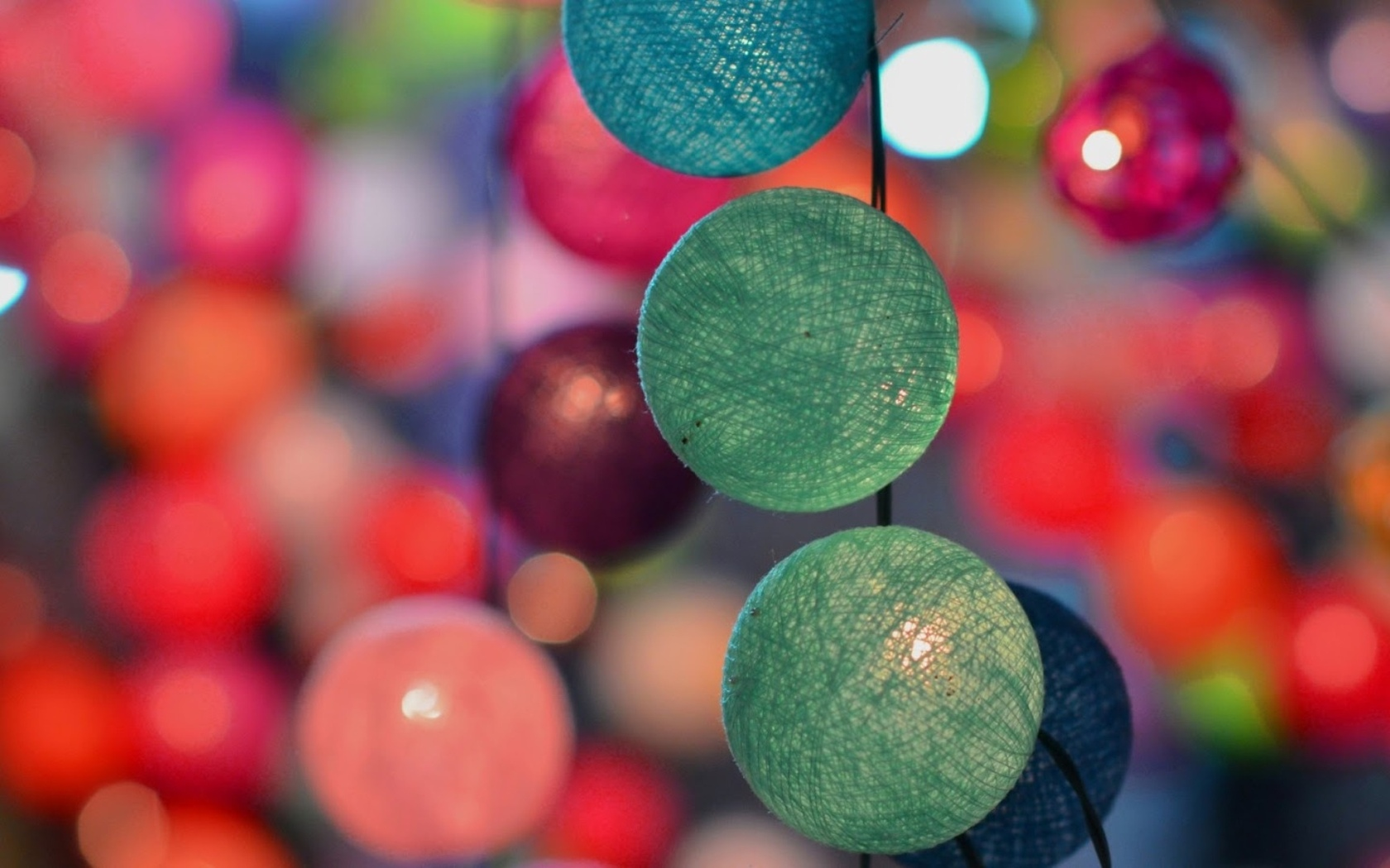 цветные, шары