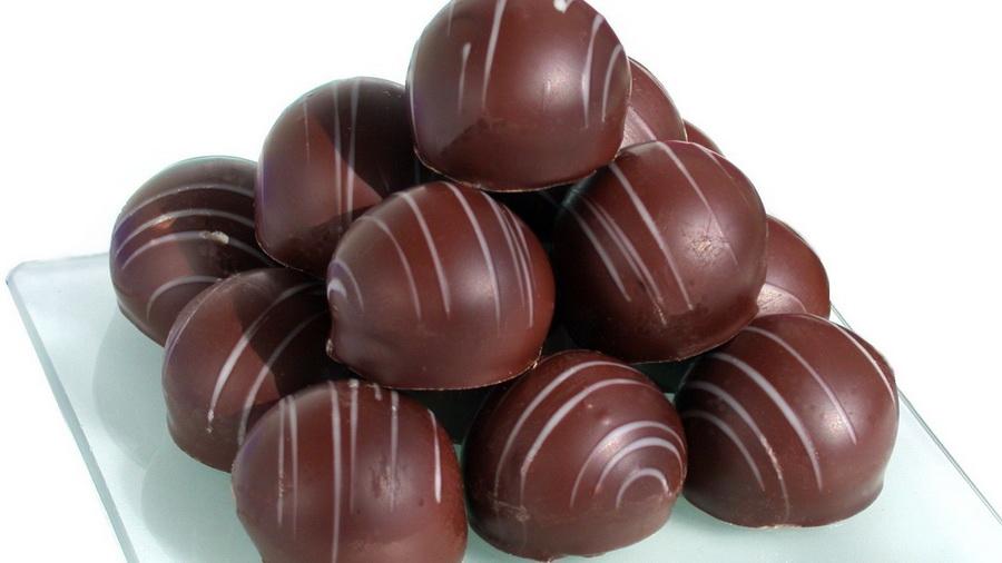 Шоколад конфеты вкусно сладости