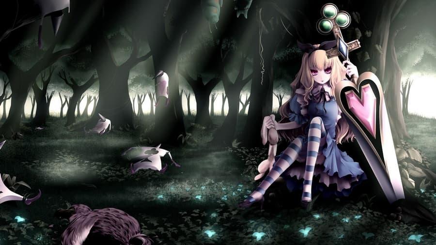 аниме девушки кролики: