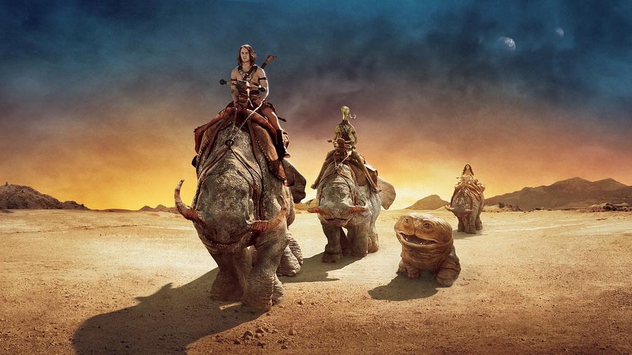 John carter фантастика пустыня горы джон