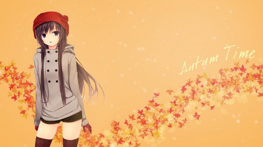 картинки аниме девушек в капюшоне: