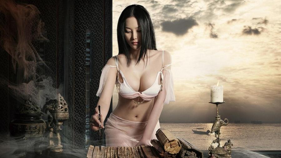 Японка с красивой грудью онлайн 6 фотография