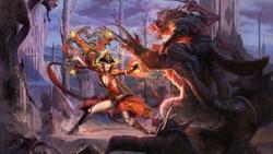 Картинки волки битва рагнарок