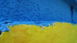 Страна голубой синий символика