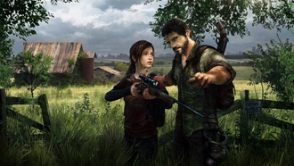снайперша, the last of us, игра