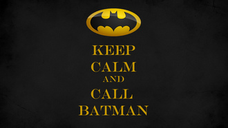 keep calm and call batman, batman, знак, minimalism, минимализм