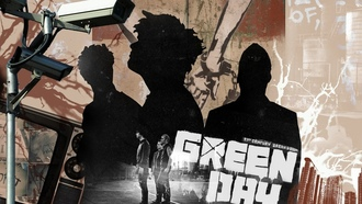 green day, tre cool, mike dirnt, billie joe armstrong, music