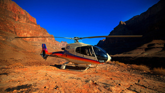 Helicopter, ����, Canyon, ������, ����������, Grand, in