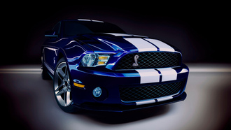 мустанг, shelby gt-500, Ford