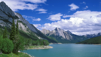 ����, �����, �������, ����, �������, canada, medicine lake, ����, ����, �������, �������, jasper national park, ����