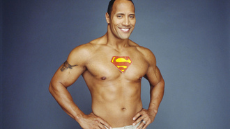 ������� super-man-a, �������, Dwayne Johnson, ���������