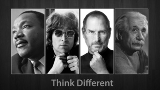 jobs, steve, different, , think