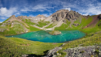 ulysses s grant peak, san juan mountains, ice lake basin, ����, ������, �����