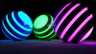 spheres, �����, 3d animation