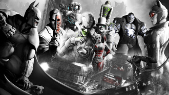 batman, mr. freeze, two-face, ������� ������, penguin, catwoman, �������, ����������, ������, ��������, the riddler, joker, harley quinn, �����, ������ ����, ������, dc comics, batman: arkham city, ����� �����, ������, arkham, �������-�����