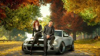 sam jack, ford mustang, �����, ������, need for speed the run