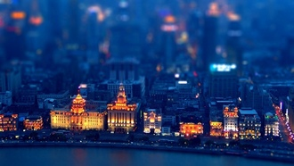 ���������, �����, ������, ����, tilt-shift, China, ����- ����, ����, Shanghai, ������, �����