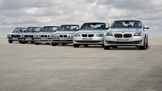 ����, ����, auto wallpapers, ������, ������, clouds, road, Bmw 5, ������