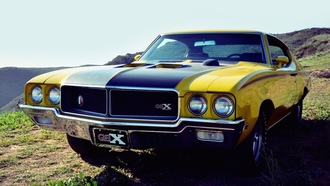 gsx, �������, 1970, ������ ���, muscle car, �����, Buick, ����