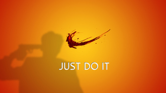 ����, Nike, just do it, splash, ������, �����
