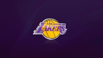Los angeles lakers, лос анджелес, баскетбол, nba, фиолетовый