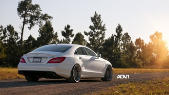 cls63, цлс63, амг, Mercedes-benz, белый, мерседес, amg , седан