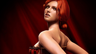 triss merigold, The witcher 2 assassins of kings, �����, ����� ���������