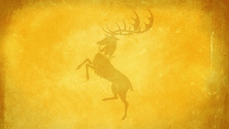 house baratheon, игра престолов, game of thrones, Олень