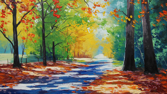 ���, mt wilson autumn, �������, artsaus