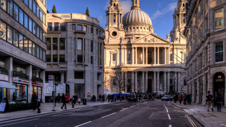 st pauls cathedral, uk, ������, england, ludgate hill, london