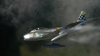 f-86, sabre, North american, ������������, �����������, ����������