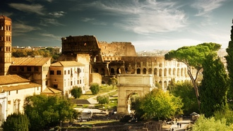 rome, ����, italy, �����������, �������, Colosseum, ���, ������