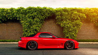 rx-7, red, �����, �����, fd, ��������� �����, �������, Mazda