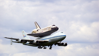 �������, ����, �����, ������, Space shuttle discovery, nasa, boeing 747-100