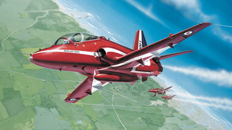 Royal air force, красные стрелы, red arrows, bae hawk, airshow