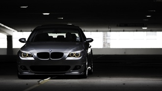 bmw e60, Auto, 530i, �������, prking, cars, ���� ���, city, ���������