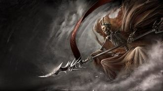 Demonicon дымка лич скелет копье the dark eye