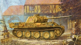 ������� ����, panther, sd.kfz. 171, �������, �������, pzkpfw v