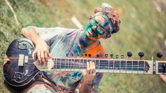 spanish folk, Festival of colors, ������, �����