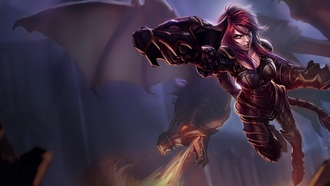 League of legends, �������, ������, ironscale shyvana, shyvana, ������
