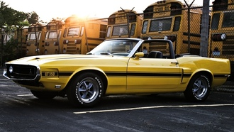 convertible, mustang, Ford, 1969, shelby, gt350, шелби, мустанг, форд