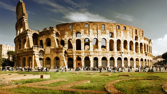 ���,  italy, rome, ������,  ���������, ����, �������, Colosseum