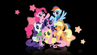 rarity, spike, pinky pie, flattershy, applejack, twilight sparkle, My little pony, rainbow dash