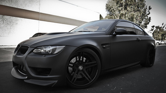 чёрный, бмв, e92, Bmw, racing dynamics sport, negro mate, матовый, m3