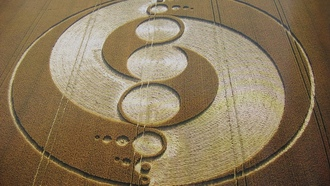 поле, ufo, нло, want to believe, Круги на полях, crop circles