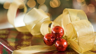 xmas, Happy new year, decorations, christmas gifts, holiday, новый год