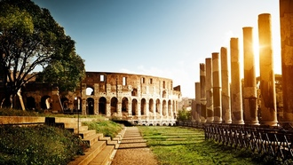 ���, �������, italy, rome, ������, colosseum